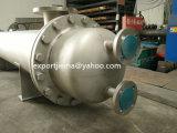 Shell y tubo intercambiador de calor condensador industrial de Guangzhou