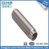 亜鉛めっきまたはナーリング(LM-169S)が付いている精密CNCの回転部品