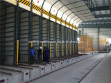 Blocs complètement automatiques de mur en béton faisant la machine, machine de fabrication de briques de mur