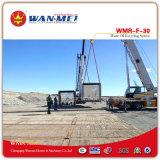 Sistema de recicl gasto famoso do petróleo de China com processo de destilação do vácuo - série de Wmr-B