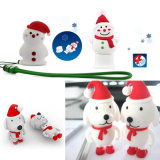 Christmas Socks Figurine Memory Stick USB para Presentes