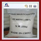 Ampliamente utilizado para el gluconato del sodio del retardador el 98%