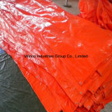 Tissus de bâche de protection tissés par polyéthylène bleu de prix usine de bâche de protection de la Chine/PE Tarps/toile