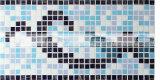 reticolo di vetro di disegno del mosaico del bordo della fusione calda di 15X15mm (BGAB001)