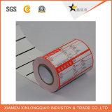 Auto-adhesivo de la impresora térmica de códigos de barras conveniencia de ventas de impresión de etiquetas engomada
