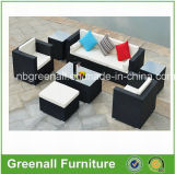 Ligne meubles de patio (GN-9089S) de jardin de rotin