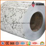 Marmorinnenfarben-Aluminium-Platte