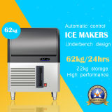 Autoportante Ice Maker en acier inoxydable - 60 kg