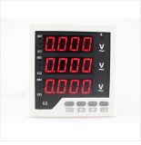Voltmetro industriale di Digitahi LED tester di corrente elettrica di 3 fasi