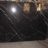 Schwarze grosse Marmorplatte China-Nero Marquina für Baumaterial