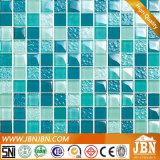 Mosaïque en verre de mur avec la configuration et la couleur différentes (M838002)