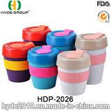 Tasse de café en plastique assortie de tasse de course de bonne qualité de couleur (HDP-2026)