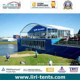 Barraca da ponte dobro de dois assoalhos para o evento de esportes do golfe