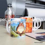 A4/A3 Size Sheet Sublimation Heat Transfer Paper für Sublimation Mug Cup/Mouse Pad/Hard Surface