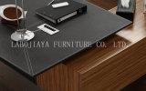 Neue Art-moderner Leder MDF-Büro-Tisch (V5)