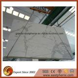 壁のタイルのためのCalacattaの白い大理石の石造りのタイル