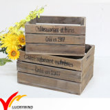 Vintage Antique Handmade Rustic Old Recycled Wooden Fruit Crates for Sale