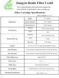 Ge Air Intake Filter Cartridge