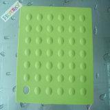 Esteira de lugar de borracha macia impermeável personalizada do silicone