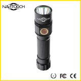Black Anti-Skid Barrel Rechargeable Water Resistant Camping Light (NK-1865)