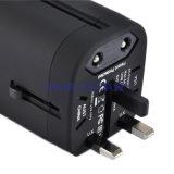 Adaptador de viaje profesional personalizada con cargador USB (HS-T107DU)