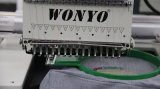 De enige Hoofd 15 Kleuren Geautomatiseerde Machine van het Borduurwerk voor Borduurwerk van het Bed van de T-shirts van GLB het Vlakke