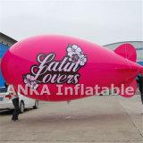 Uno mismo que infla el dirigible no rígido grande del dirigible del PVC para el acontecimiento