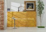 Pièce d'art de DIY/mousse texturisée de brique de PE de fond décoration intérieure