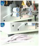 Macchina automatizzata di taglio e di spogliatura del collegare con collegare piano