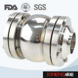 Тип клапан струбцины нержавеющей стали пищевой промышленности Non возвращенный (JN-NRV2002)