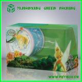 Emballage se pliant en plastique de boîte de l'impression adapté aux besoins du client par pp 2015 d'animal familier de PVC