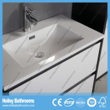 Vanidad moderna del cuarto de baño de los muebles del estilo de la laca caliente del lustre (BF133M)