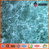 Comitati compositi di alluminio decorativi di struttura di pietra del granito e del marmo di Ideabond 1220*2440mm