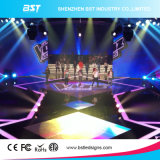 Hohes Brightness P4.81mm Full Color Rental Indoor LED Screen für Art Festival Stage