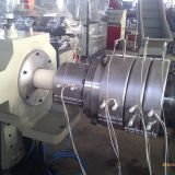 Sjsz80 PVC 관 밀어남 선 플라스틱 원뿔 쌍둥이 나사 압출기