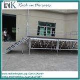 Этап случая этапа передвижного этапа платформы крытого или напольного этапа алюминиевого этапа Moving