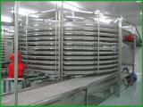 Refrigerador espiral do fabricante, torre refrigerando espiral do brinde do Hamburger do pão