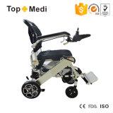 Облегченная складывая кресло-коляска силы с батареей лития для инвалид