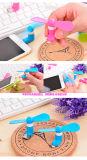 2 in 1 Miniventilator Mikro-USB-elektrischem Ventilator für androiden Handy/Handy/iPhone