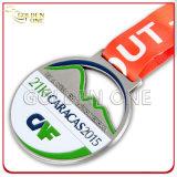 Souvenir Gift Maratona personalizada Running Gold Sport Award Metal Medal