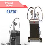 Macchina grassa di bellezza di perdita di peso della gelata di Cryolipolysis della membrana dell'antigelo Cry07 con 3 Handpieces (CE)