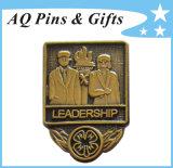 Pin professionale Badge di Factory Clover Metal Antique per 15 Years (badge-139)
