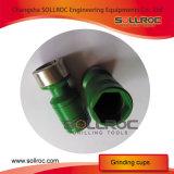 Пневматический точильщик бита кнопки Sollroc владением руки