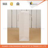 Sacchetto di indumento di carta del documento della maniglia del cotone dell'imballaggio di alta qualità