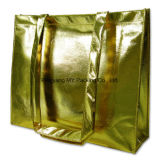 Мешок PP печати высокого качества изготовленный на заказ прокатанный золотом Non сплетенный