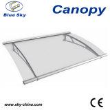 알루미늄 프레임 플라스틱 지붕 옥외 문 닫집 (B900-1)
