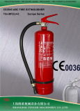 4KG ABC مسحوق جاف طفاية حريق (أزرق / أصفر) -CE المعتمدة