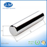 N42 Power D3X8mm Permanent Bar Shape Neo Magnet for Industry