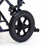 Presidenza di transito, bracciolo registrabile di altezza, sedia a rotelle, per gli anziani (YJ-028B)