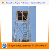 Aluminium Gebruikte Steiger, het Systeem van de Steiger, Steiger voor Verkoop